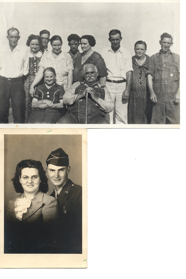 The Stephensons (top picture) and Owen & Lois Kehr (bottom picture)